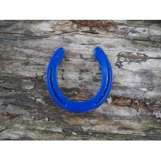Geluks-hoefijzer blauw